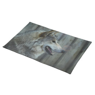 Mexican Wolf Placemat Cloth Placemat