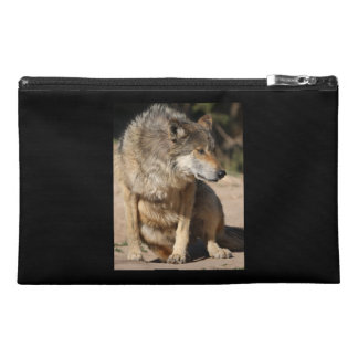 Mexican Wolf Portrait Travel Accessories Bags