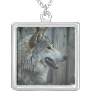 Mexican Wolf Sterling Silver Necklace