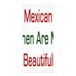 Mexican Women Are More Beautiful Rack Card