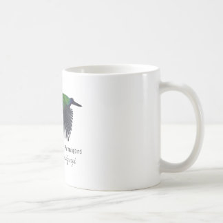 Mexican Woodnymph Hummingbird with Name Coffee Mug