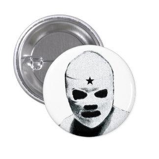 Mexican Wrestler Pinback Buttons