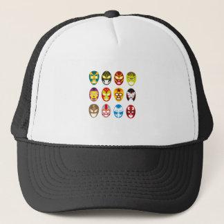 Mexican Wrestling Masks Trucker Hat