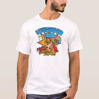 Mexican Wrestling Squirrel Paco T-Shirt