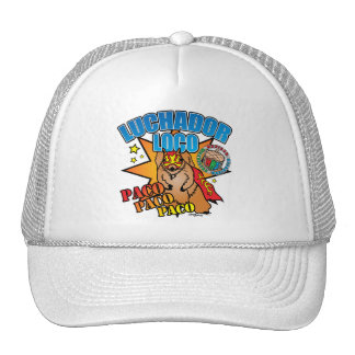 Mexican Wrestling Squirrel Paco Trucker Hat