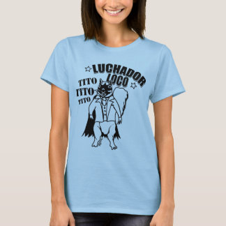 Mexican Wrestling Squirrel Tito T-Shirt