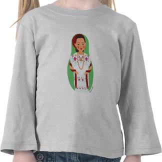 Mexican Yucatan Matryoshka Toddler Long Sleeve T Shirts