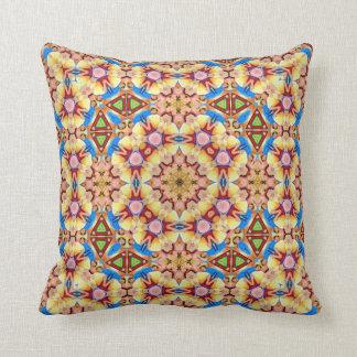 Mexicana Kaleidoscope Design No 3 Throw Pillow
