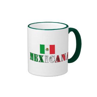 Mexicana Ringer Coffee Mug