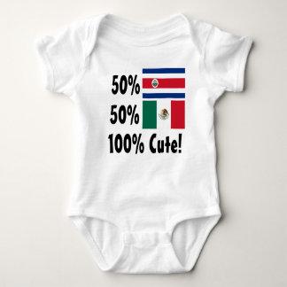 Mexicano de Rican el 50% de la costa del 50% el Mameluco De Bebé