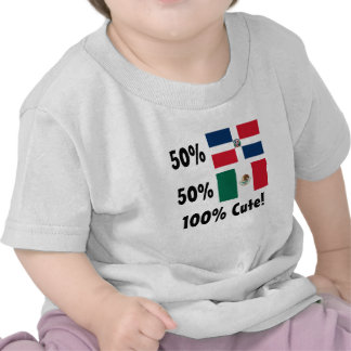 Mexicano del Dominican el 50% del 50% el 100% lind Camiseta