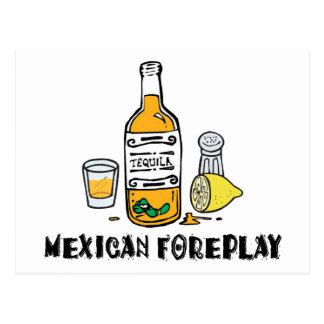 Mexicano divertido postales