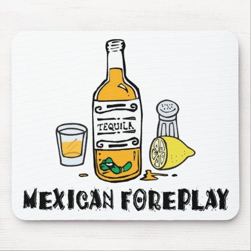Mexicano divertido tapetes de raton