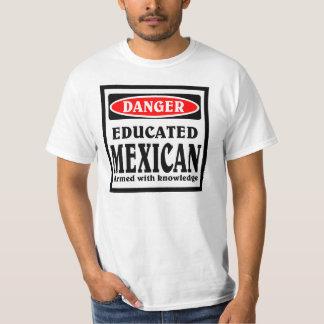 Mexicano educado playera