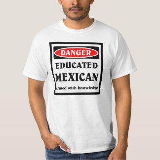 Mexicano educado playeras