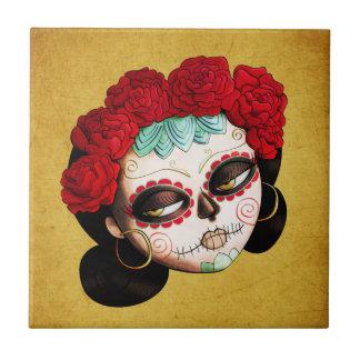 Mexicano hermoso Catrina Azulejos