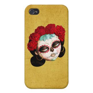 Mexicano hermoso Catrina iPhone 4/4S Carcasas