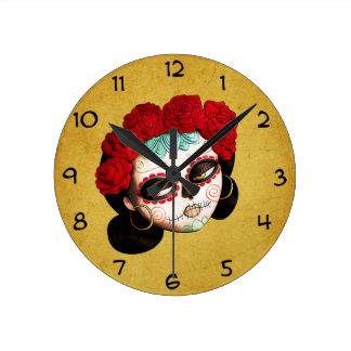 Mexicano hermoso Catrina Reloj