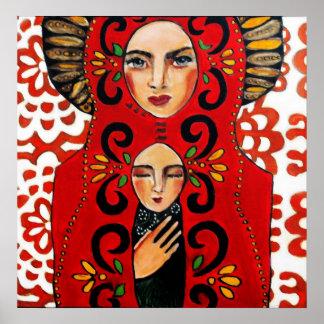 Mexicano Madonna - arte de Bonorand Posters