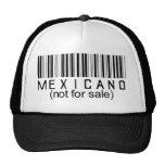 Mexicano (no para la venta) gorra