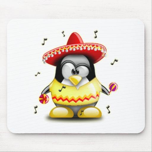 Mexicano Tux Alfombrilla De Raton
