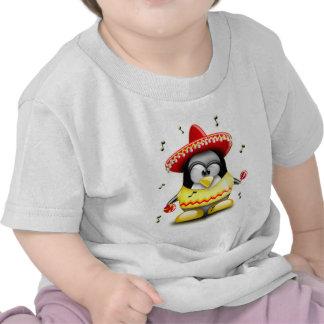 Mexicano Tux Camiseta