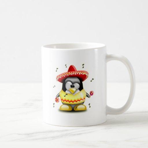 Mexicano Tux Taza De Café