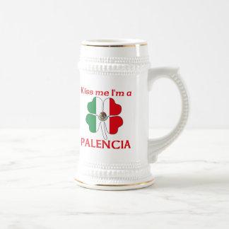 Mexicanos personalizada me besan que soy Palencia Jarra De Cerveza