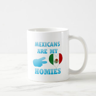 Mexicans are my Homies Classic White Coffee Mug