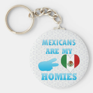Mexicans are my Homies Key Chains