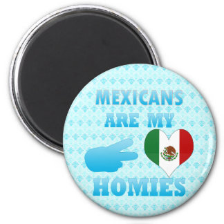 Mexicans are my Homies Magnet