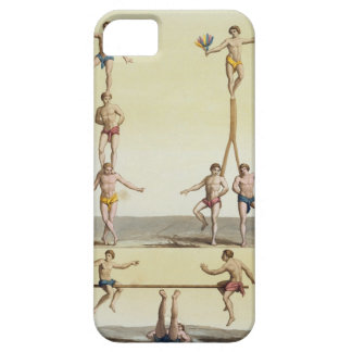 Mexicans Performing Gymnastics (colour litho) iPhone SE/5/5s Case