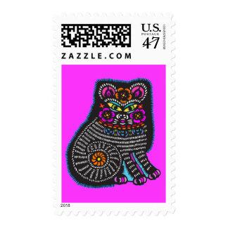 Mexicat Sello Postal