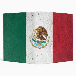 Mexico 3 Ring Binder