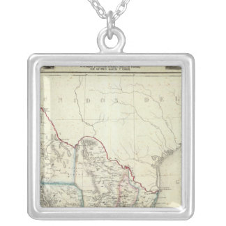 Mexico 4 silver plated necklace