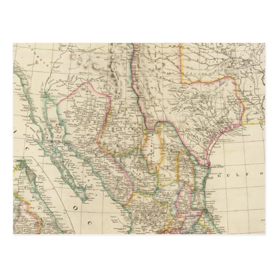Mexico 5 postcard