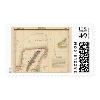 México 66 timbre postal