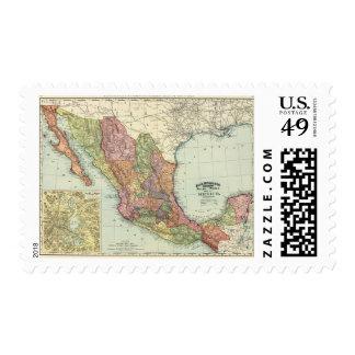 México 7 estampillas
