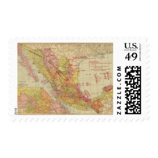 México 9 timbres postales
