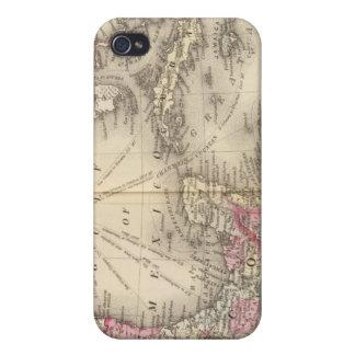 México, America Central, las Antillas iPhone 4/4S Carcasa