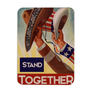 Mexico and America better together Magnet