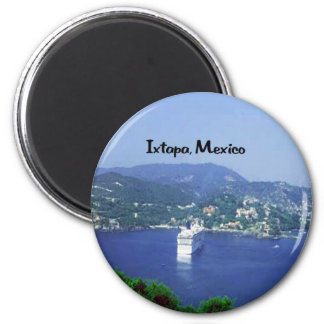 Mexico and Central America 2 Inch Round Magnet
