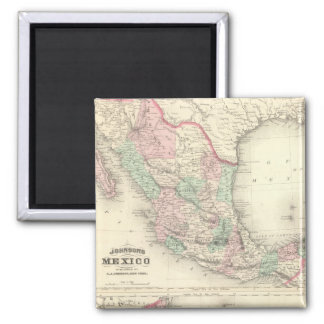 Mexico and Central America 2 2 Inch Square Magnet