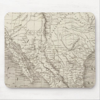 Mexico and Central America Mouse Pad
