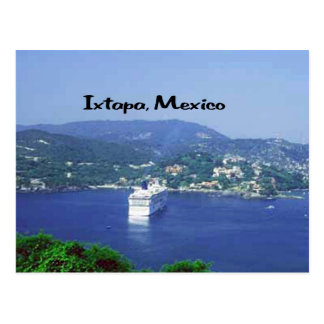 Mexico and Central America Postcard