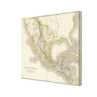 Mexico and Guatamala Canvas Print