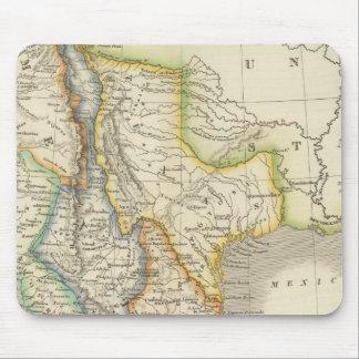 Mexico and Guatamala Mouse Pad