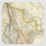 Mexico and Guatamala Square Sticker