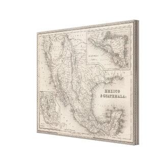 Mexico and Guatemala 2 Canvas Print