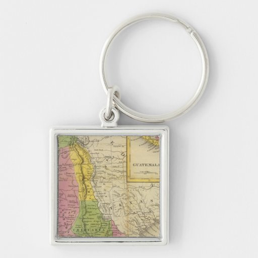 Mexico and Guatemala 2 Key Chains